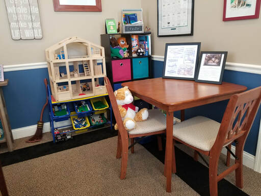 Sharon's Office - play area